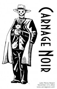 Carnage Noir book cover.