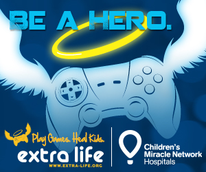 Extra Life logo.